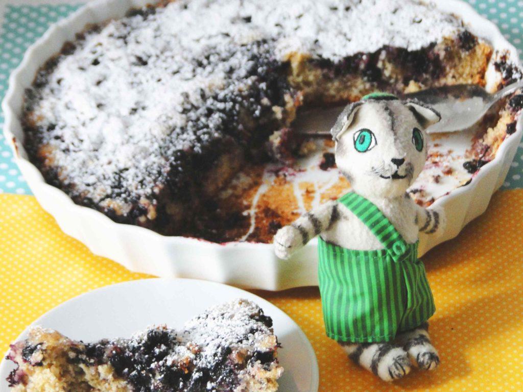 Ciasto jagodowe Findusa