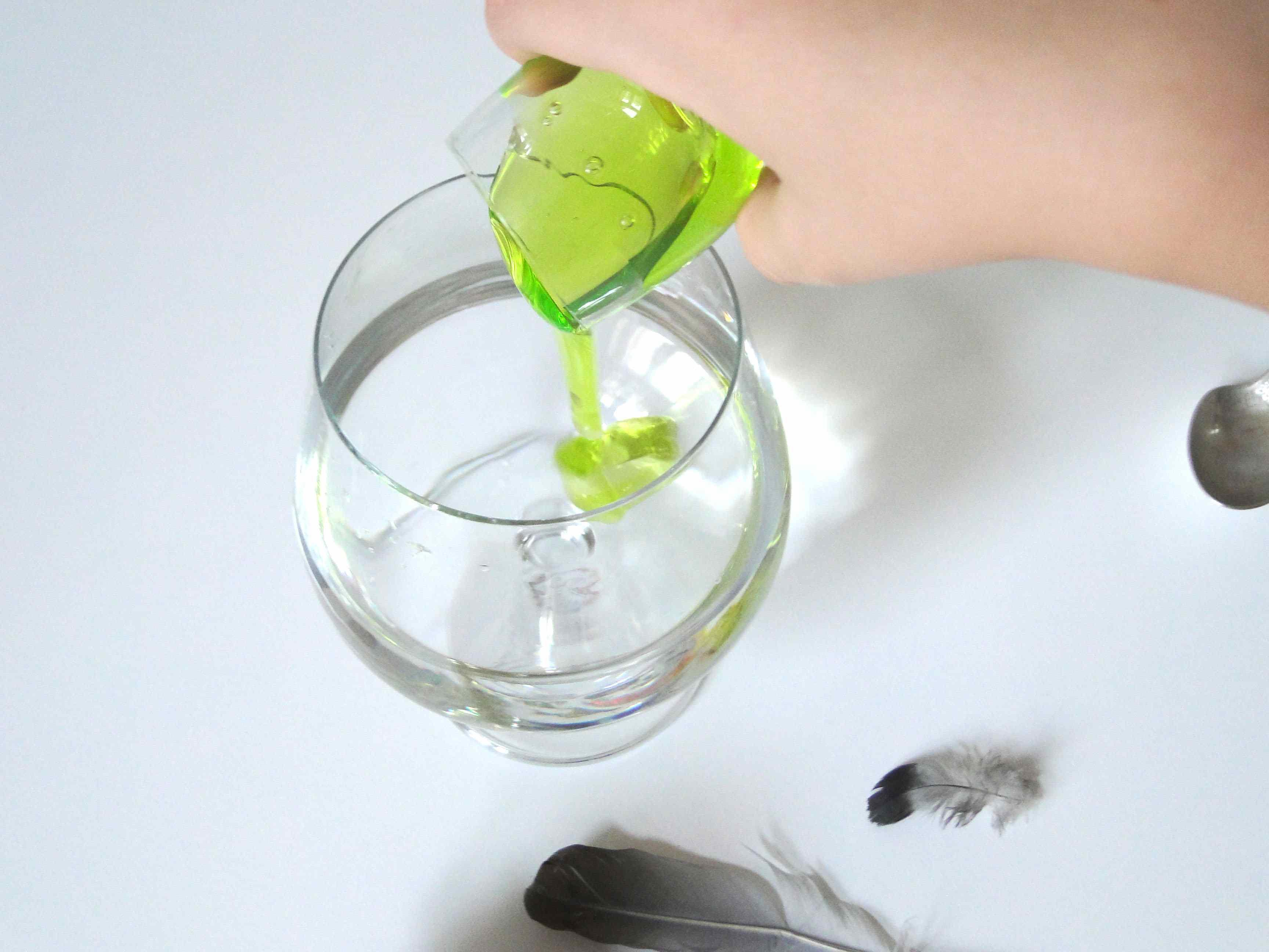 eksperyment. czysta woda