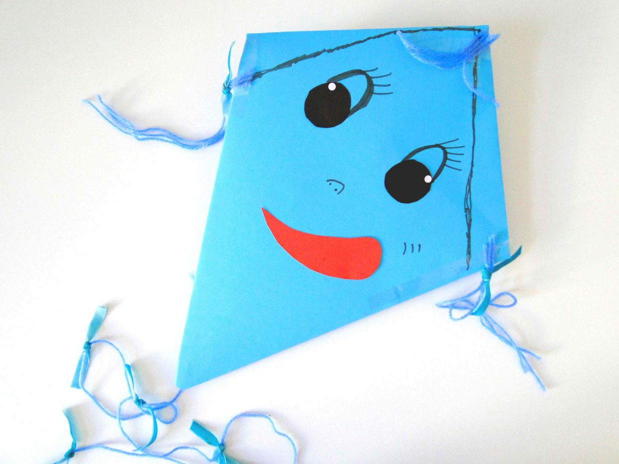 As the Wind Blows: A Kite for a Sunny Day
