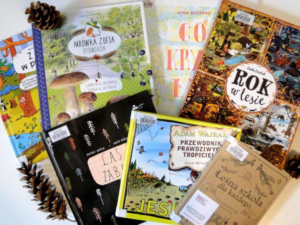 Książki o lesie: 7 wspaniałych propozycji