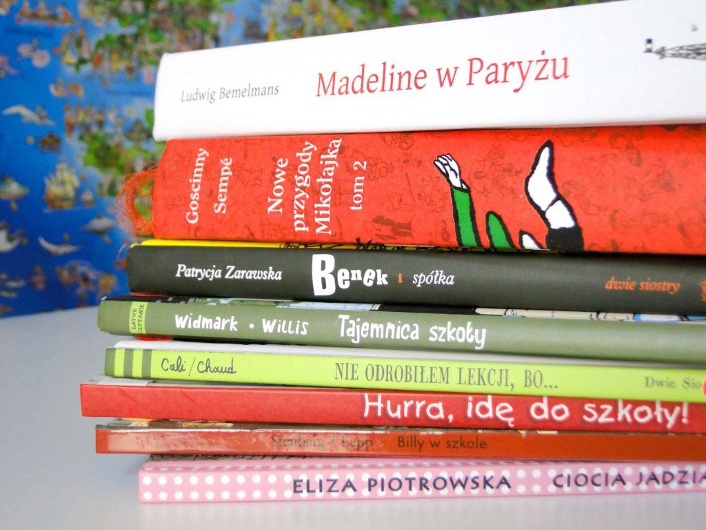 Lista książek o szkole i ze szkołą w tle