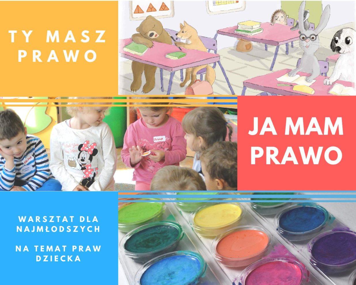 b0725eecf9ed15 28.10 w Warszawie Warsztat -Ty masz prawo, ja mam prawo - Bajki Gry ...