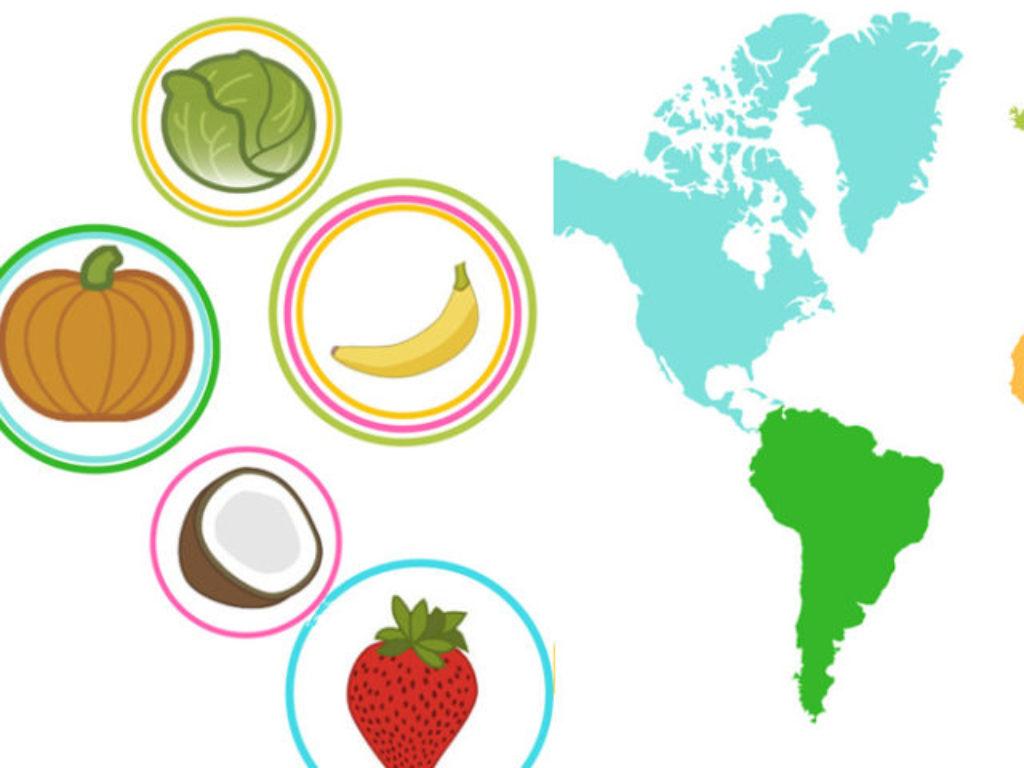 Polska – Brazylia – Chiny – Skąd się wzięły jadalne rośliny?