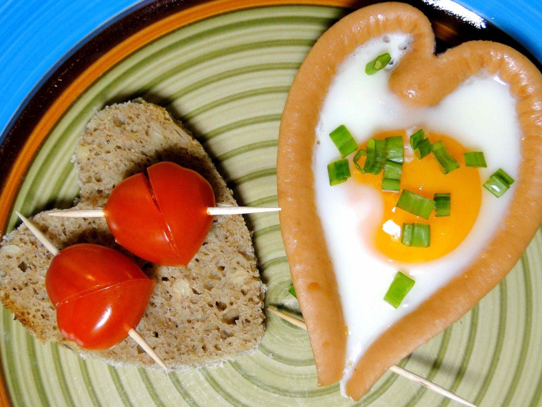 walentynkowe śniadanie gotowy efekt