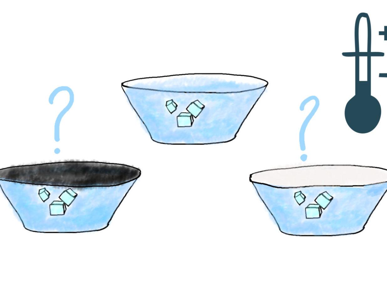 Experiment on Solar Energy Glass Trap