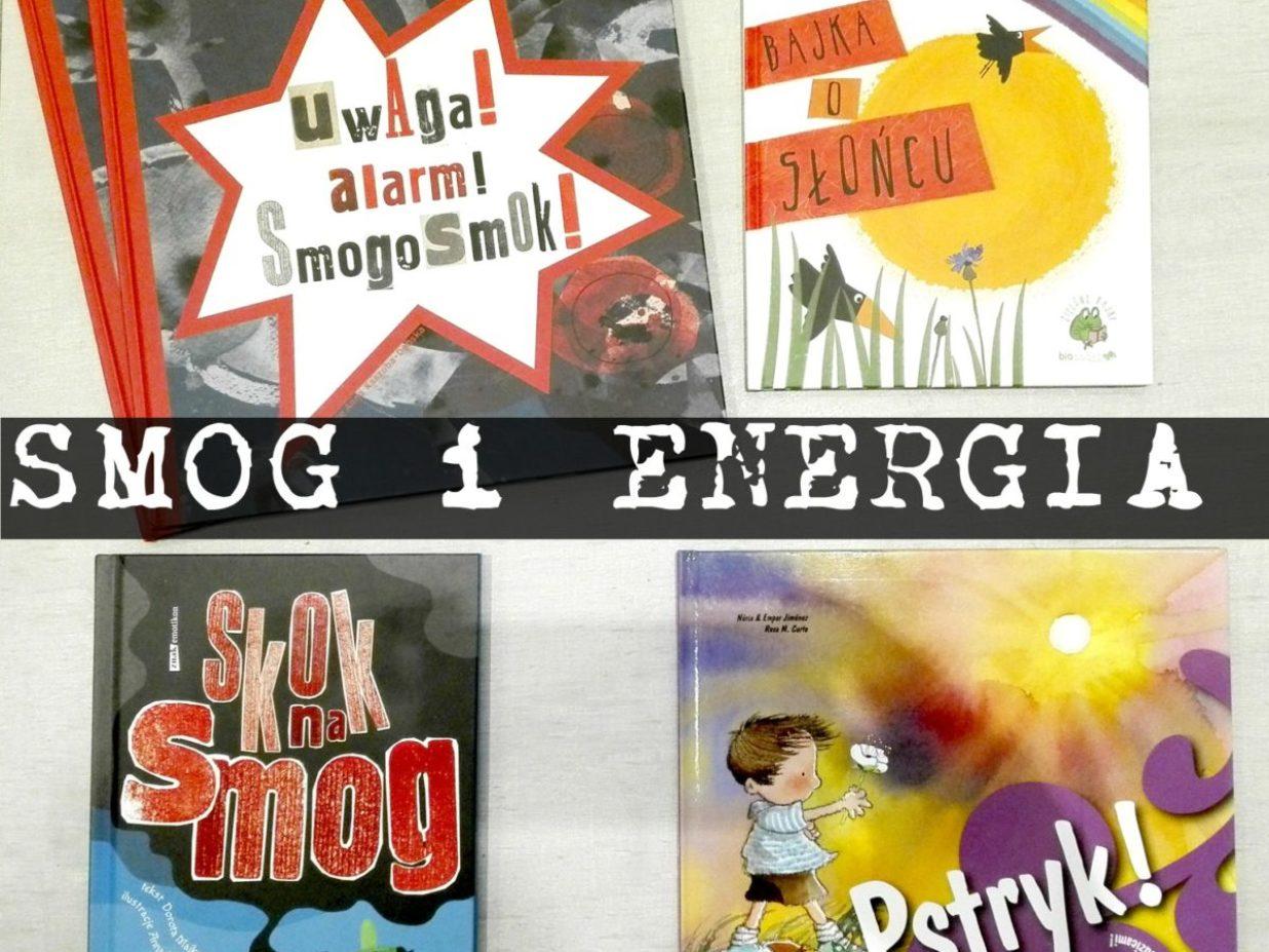 KONKURS! Książki o smogu i energii