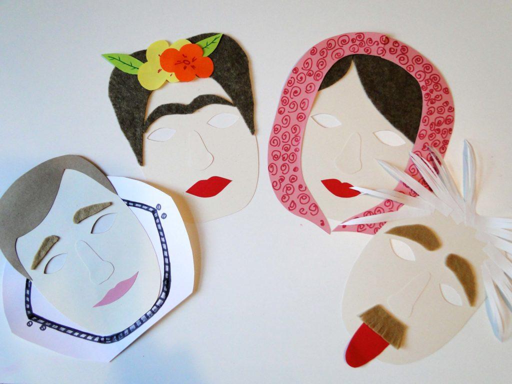 Maski słynnych postaci