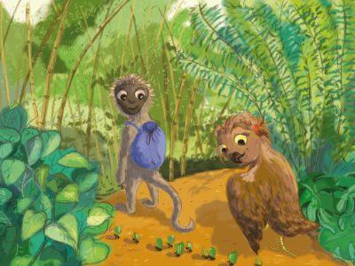 Obronna tarcza, czyli o zdrowiu i przygodach w tropikalnym lesie (odc.25)