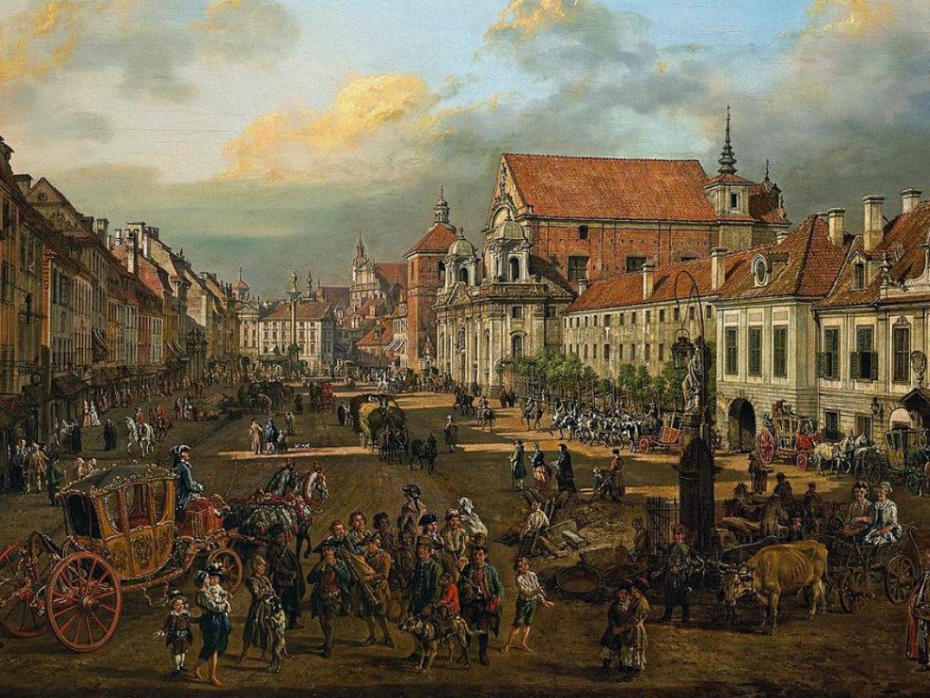 Canaletto, dzięki któremu znamy Starą Warszawę