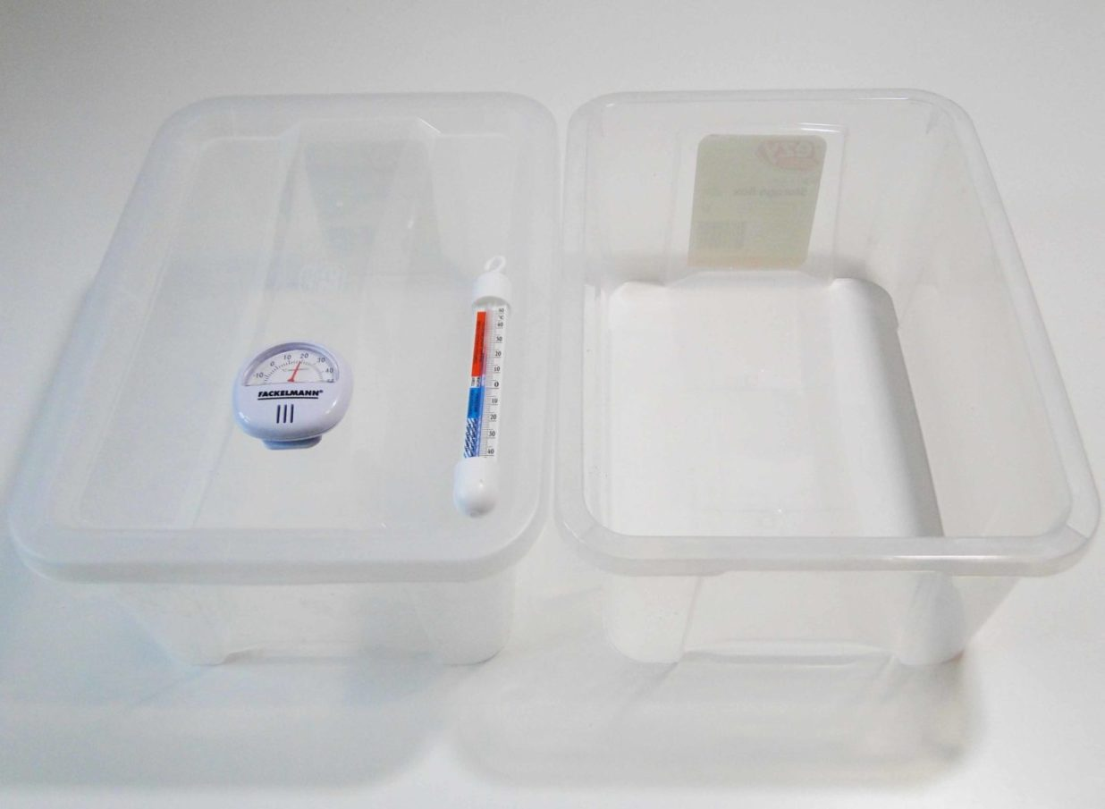 materiały niezbędne do przeprowadzenia eksperymentu