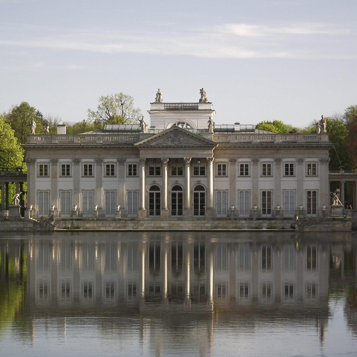 Zamek na wyspie