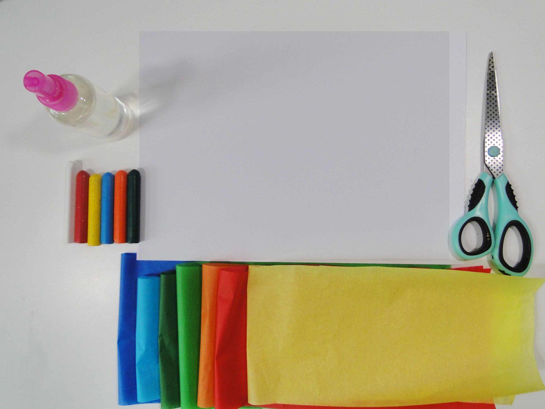 materiały niezbędne do wykonania pracy plastycznej