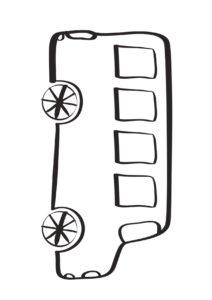 grafika autobusu