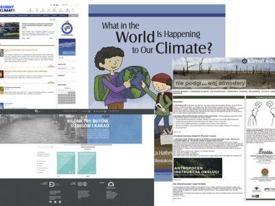 Źródła internetowe o zmianach klimatu dla nauczycieli