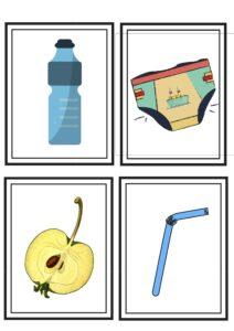 rysunki odpadków