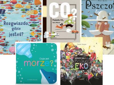 Książki dla dzieci o zmianach klimatu