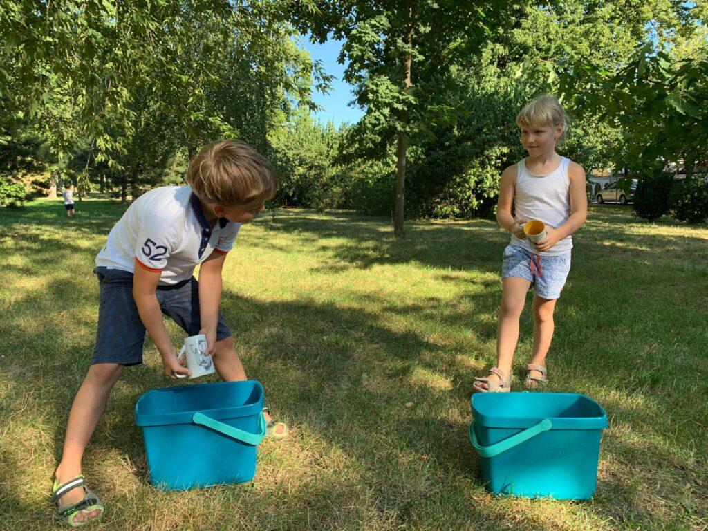 Uratuj wioskę – dostarcz wodę na czas