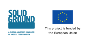 Logo Unii Europejsiej i Projektu Build Solid Ground
