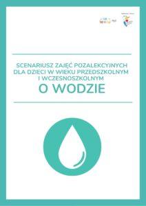 Okładka scenariuszy o wodzie