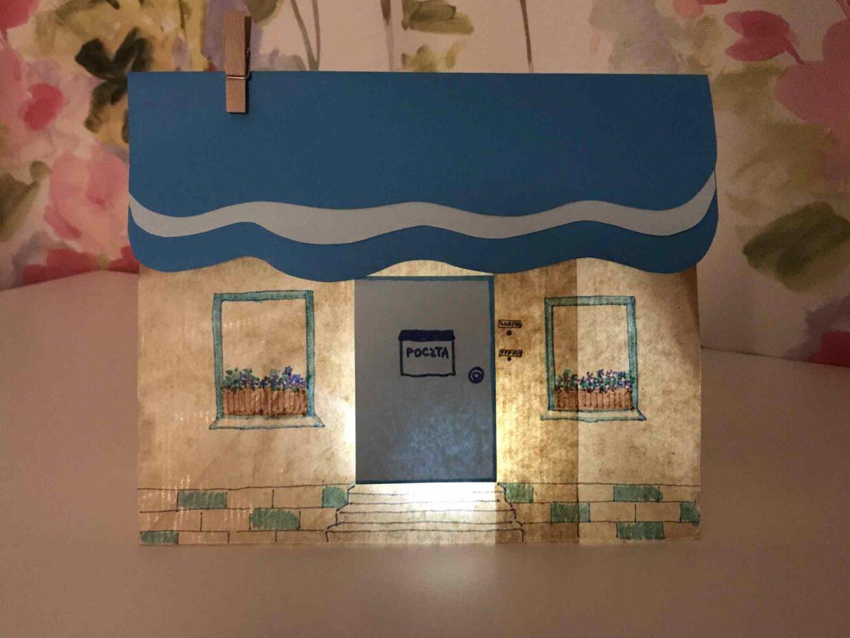Papierowy model naszego domu