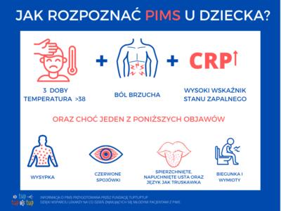 Jak rozpoznać PIMS u dziecka?