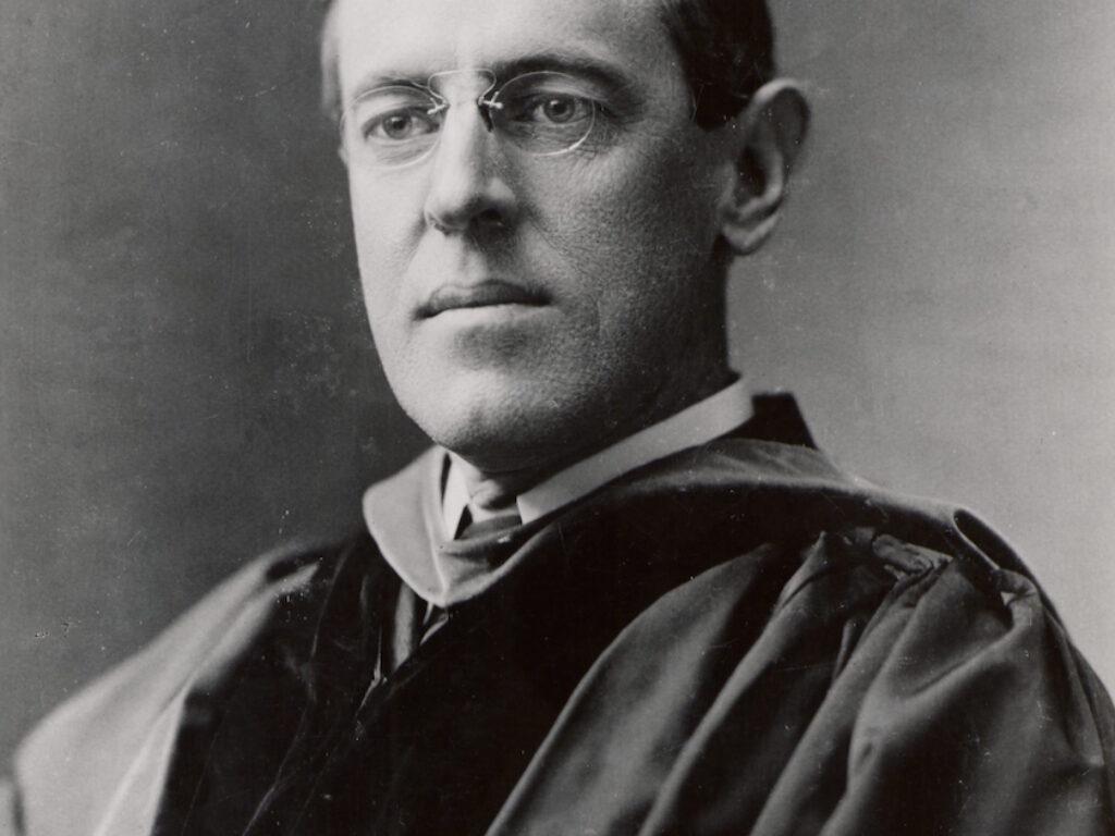 Kolaż portretu Wilsona