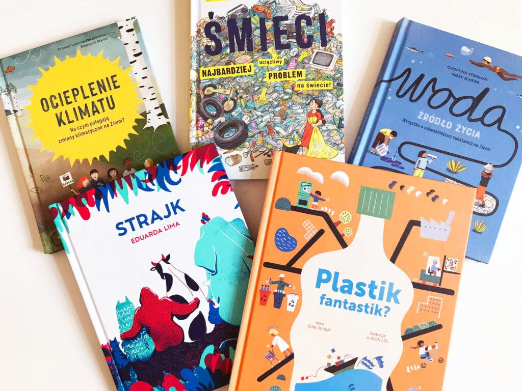 Książki idealne na dzień Ziemi