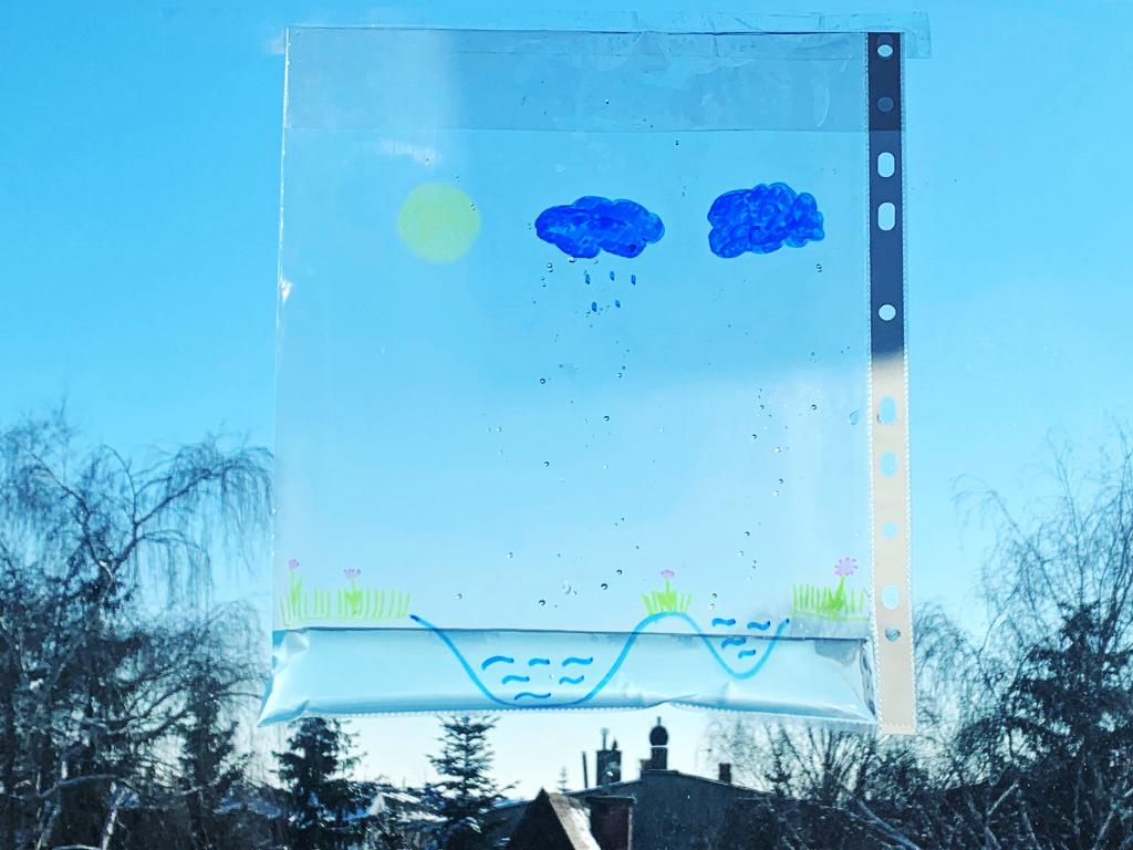 Eksperyment – obieg wody w przyrodzie